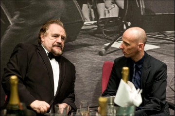 Actors Brian Cox and Ewen Bremner