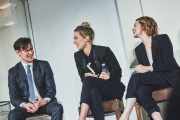 Academy Circle with the cast of The Crown, Matt Smith, Vanessa Kirby and Claire Foy, 195 Piccadilly, March 2017 (Photo credit: BAFTA/Jonathan Birch)