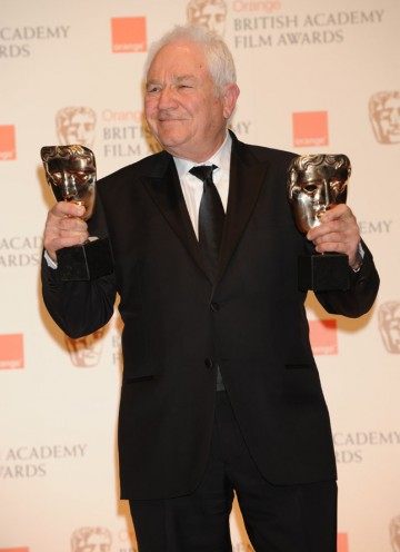 Two wins for The King's Speech writer David Seidler, Original Screenplay and Outstanding British Film. (Pic: BAFTA/Richard Kendal)