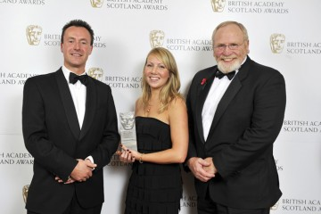 Winners of the Factual Series category, The Scheme