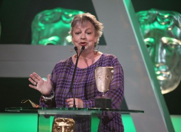 Jo Brand wins for Getting On - beating Dawn French, Katherine Parkinson and Miranda Hart.