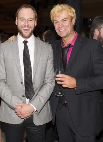 Elliot Cowan (L) & Julian Lewis Jones (R)