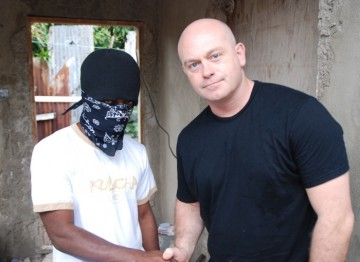 This documentary series saw the actor travel around the world to meet gang members and those affected by them. (Pic: Tiger Aspect)