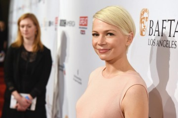 Michelle Williams, actress in Manchester by the Sea, joined us for our annual BAFTA Tea