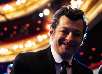 Andy Serkis, photographed at the 2010 Film Awards