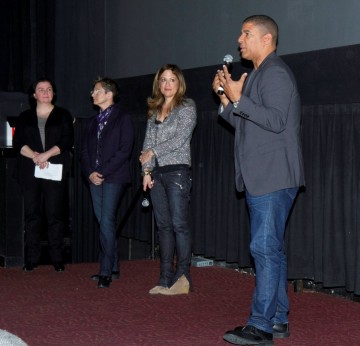 BAFTA New York COO Lisa Harrison, Producers Nancy Bernstein and Christina Steinberg, and Director Peter Ramsey