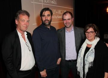 Simon Gammell, Kieran Evans, Matthew Wiseman and Karen Arikian