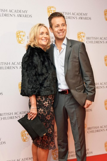 Pat and Monica Sharp at the BAFTA Children's Awards 2015 at the Roundhouse on 22 November 2015
