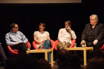 Angus Lamont, Lou McLoughlan, John MacLean & Iain Smith OBE