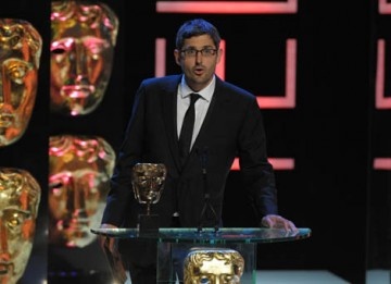 Documentary maker Louis Theroux announced the award for Single Documentary (BAFTA / Marc Hoberman).