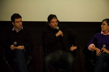 Producer Jonathan Gordon, Bradley Cooper and Producer Donna Giliott
