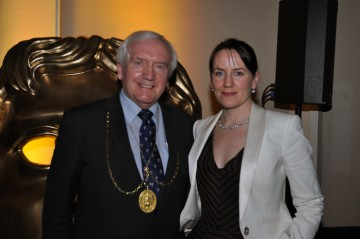 Deputy Lord Provost, Baillie Allan Stewart & BAFTA in Scotland Director, Jude MacLaverty
