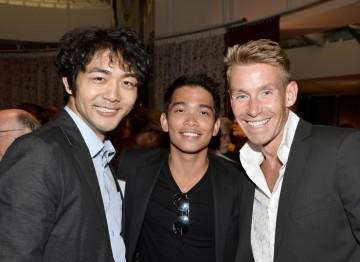 Yuki Matsuzaki, Darvill Rodriguez and David Bull