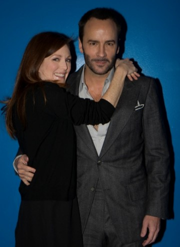 Julianne Moore and Director Tom Ford