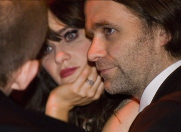 Zooey Deschanel with husband Ben Gibbard
