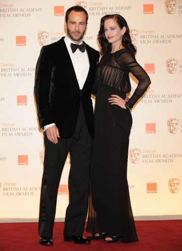 Tom Ford and Eva Green announced Tom Hardy (Inception, Bronson) as this year's Orange Wednesdays Rising Star. (Pic: BAFTA/ Richard Kendal)