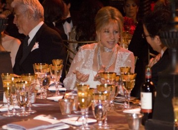 Barbra Streisand at the Brits to Watch dinner