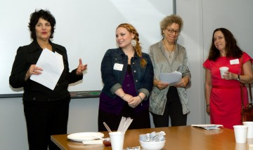 Scholarship recipient Dana D'Adamo