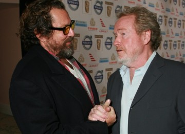 Julian Schnabel and Ridley Scott
