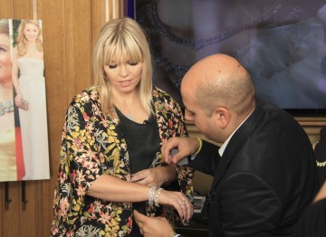 Kate Thornton tries on her favourite pieces from the stunning display of CARAT* jewellery.