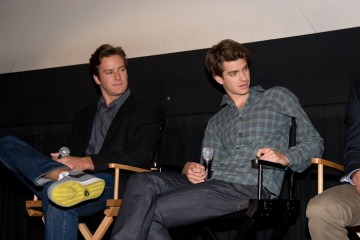 Armie Hammer and Andrew Garfield