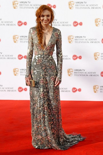 Poldark star Eleanor Tomlinson looks stunning on the red carpet