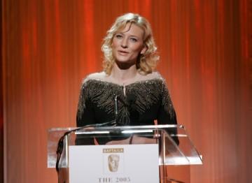 Award presenter Cate Blanchett