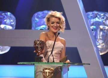 Next up is the award for best Comedy Programme. Sheridan Smith arrives to announce the winner.