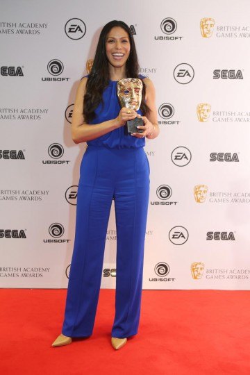 Merle Dandridge wins the award for Performer for Everybody's Gone to the Rapture