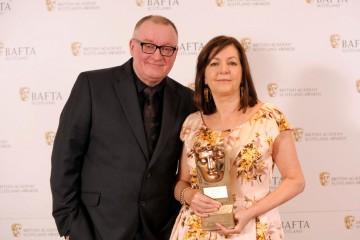 Stuart Cosgrove and Dorothy Byrne