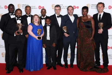 Single Drama Winners: Damilola, Our Loved Boy L-R - Babou Ceesay, Levi David Addai, Richard Taylor, Susan Horth, Sammy Kamara, Tunder Taylor, Adrian Kelly, Colin Barr and Wunmi Mosaku