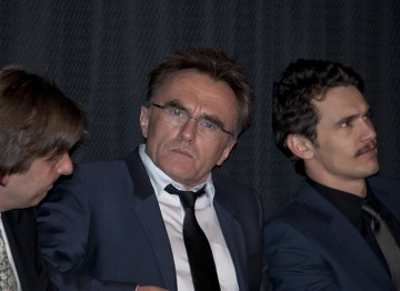 Director Danny Boyle and James Franco