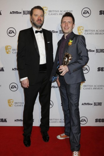 The BAFTA for Game Innovation was presented by game writer Chet Faliszek to the creators of The Vanishing of Ethan Carter.