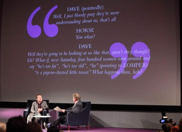 Lecture held with Simon Beaufoy as apart of the BAFTA and BFI Screenwriters' Lecture Series. (Photography: Jay Brooks)