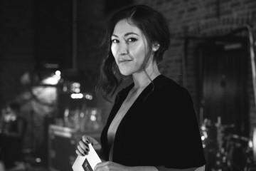 Eleanor Matsuura awaits backstage