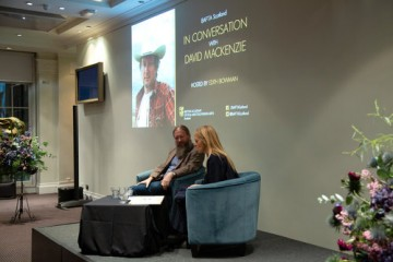 Event: St. Andrews Day Celebration: In Conversation with David MackenzieDate: Friday 30 November 2018Venue: BAFTA, 195 Piccadilly, LondonHost: Edith Bowman-