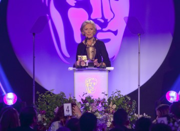 Mary Berry presents the Award for Editing: Factual