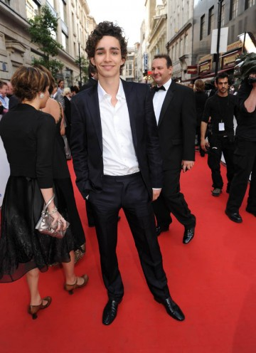 Star of Misfits and Drama Series nominee Robert Sheehan (BAFTA/Richard Kendal).