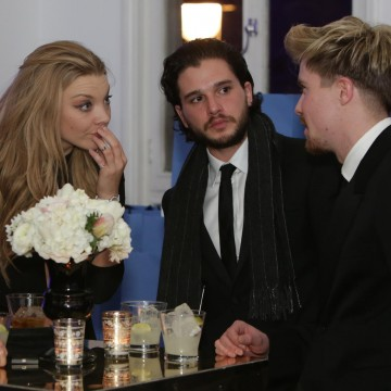 Natalie Dormer, Kit Harrington and Joe Demsie