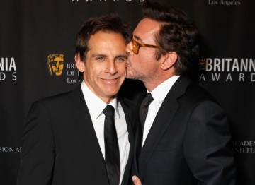 Ben Stiller and Robert Downey Jr.