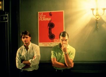 Antonio Banderas in The Law of Desire (1987). ©Jorge Aparicio