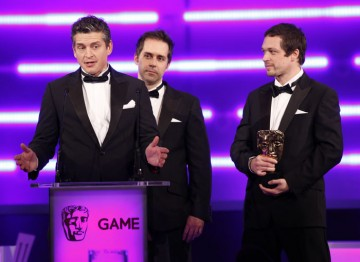 The historicalstealthaction-adventurevideo gamedeveloped byUbisoft Montreal takes the prize for Action game. (Pic: BAFTA/Brian Ritchie)
