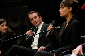 Jean Dujardin and Berenice Bejo meet at BAFTA screening of THE ARTIST