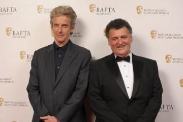 Peter Capaldi & Steven Moffat