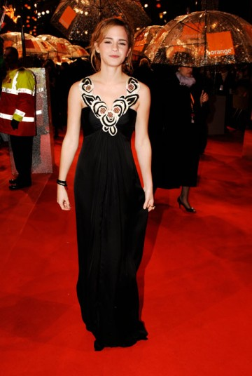 Harry Potter star Emma Watson wowed the crowd in a beautiful, full-length Temperley gown (BAFTA / Richard Kendal).