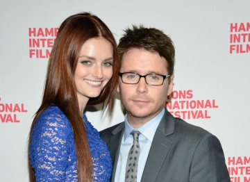 Lydia Hearst and actor Kevin Connolly.