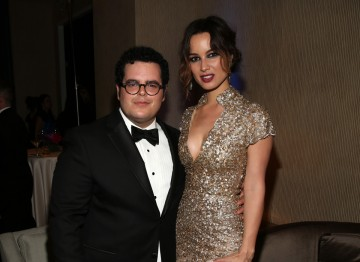 Actor Josh Gad and Skyfall's Bérénice Marlohe.