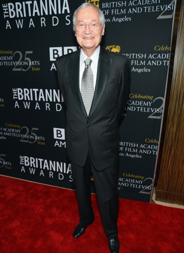 Veteran producer Roger Corman attended to present the John Schlesinger Britannia Award for Excellence in Directing to Quentin Tarantino.