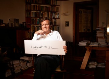 Sir David Hare reveals the inspiration behind his writing (Picture: BAFTA/Jay Brooks).