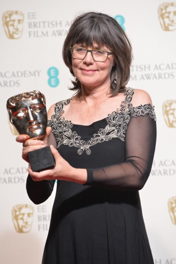 Margaret Sixel, winner of the Editing award for Mad Max: Fury Road